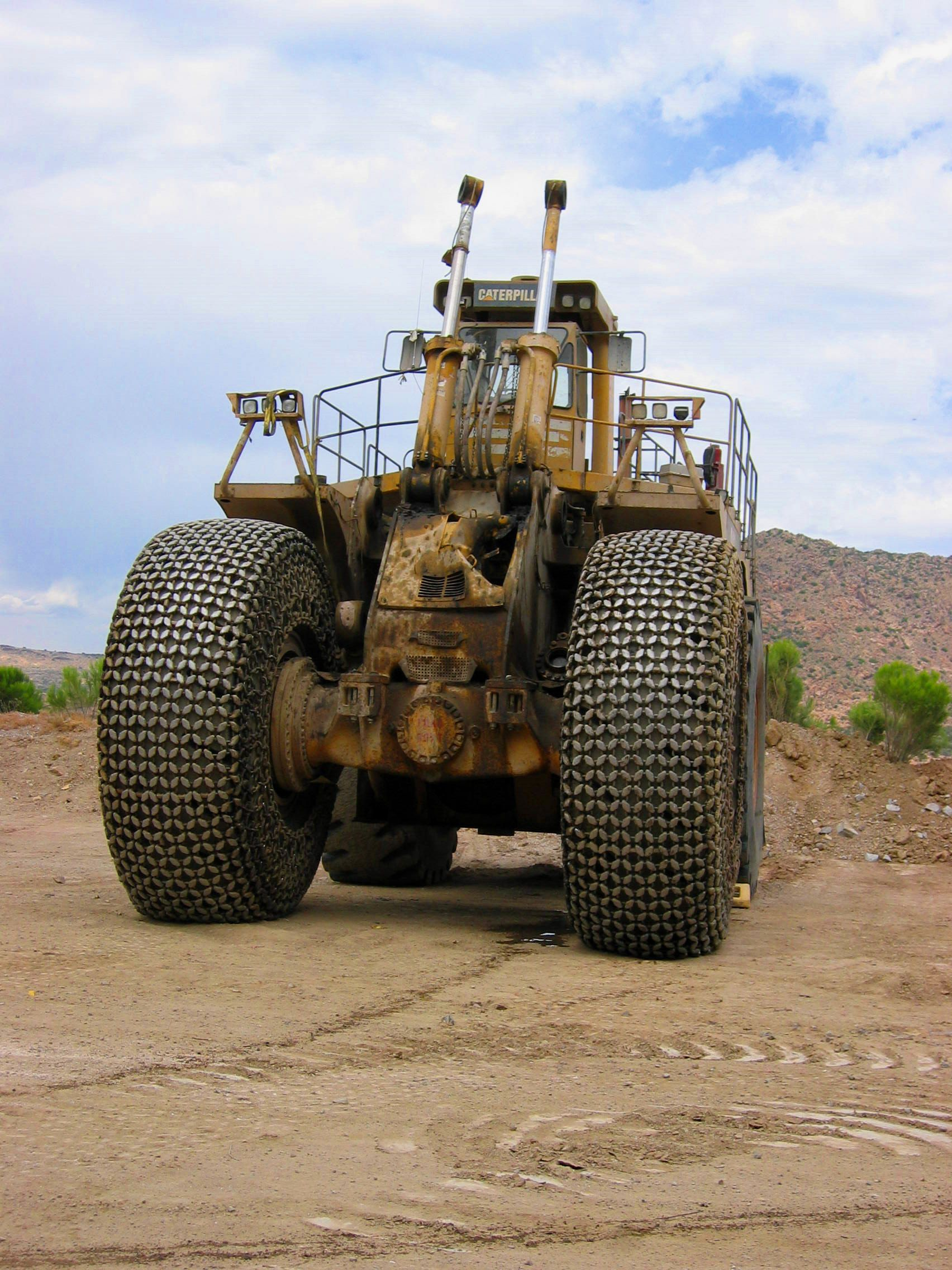 "End Dump Truck >> GoFools - All galleries for album: ""Bagdad Copper Mine"""